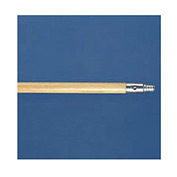 "60"" Metal-Tip Threaded End Hardwood Broom Handle - BWK136"