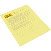Xerox® Bold Digital Carbonless Paper - XER3R12437 - 8-1/2 x 11 - Canary - 500 Sheets