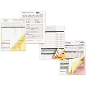 "Xerox® Carbonless Paper 3R12856, 8-1/2"" x 11"", Goldenrod/Pink/Canary/White, 5000/Carton"