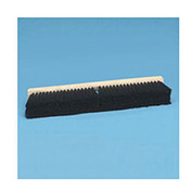 "18"" Floor Brush Head 2-1/2"" Tampico Fibers, Black - BWK20218 - Pkg Qty 12"