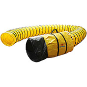 "XPOWER 25'L x 12""ID Polyester Duct Hose for X-12 - 12DH25"