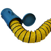 XPOWER Duct Hose Carrier w/25' Hose for X-8 - 8DHC25