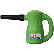 XPOWER Airrow Pro A-2 Multipurpose Electric Duster & Blower, 2 Speeds 3/4 HP - A-2-Green