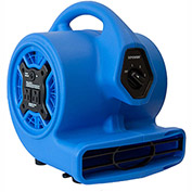 XPOWER Mini Air Mover w/ Daisy Chain 1/8 HP, 4 Positions, 3 Speeds - P-100A