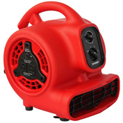 XPOWER Mini Air Mover W/ Daisy Chain & 3-Hour Timer, 4 Positions 3 Speeds 1/8 HP - P-200AT