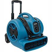 XPOWER Air Mover, Dryer, Fan, Blower w/ Telescopic Handle 1/2 HP, 3 Speeds, 4 Positions - P-630HC