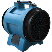 "XPOWER 12"" Industrial Confined Space Axial Fan, Variable Speed 1/2 HP - X-12"