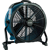 XPOWER Stackable Variable Speed Axial Fan w/3-Hour Timer, 1/3 HP - X-47ATR