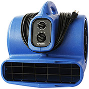 XPOWER Stackable Air Mover w/Timer & Filter, 4 Positions, 3 Speeds 3/4 HP - X-800TF