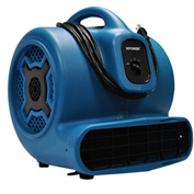 XPOWER Stackable Air Mover, 4 Positions 3 Speeds 1 HP - X-830
