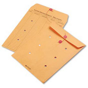 Interoffice Envelopes, Kraft String-Tie, Printed One Side, 9 x 12, 100/Carton