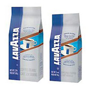 Lavazza Gran Filtro Dark Italian Roast Coffee, Regular Ground Fraction Packs, 30/Carton