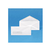 Window Envelopes, White, #6-3/4, 3-5/8 x 6-1/2, 500/Box, 10 Box/Carton