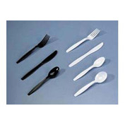 Heavyweight Plastic Soup Spoons, 1,000 per Carton