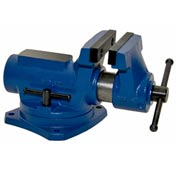 "Yost 4"" Compact Bench Vise With 360° Swivel Base Vise"