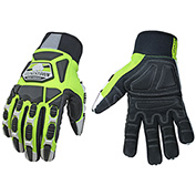 High Visibility, Heavy Duty Performance Titan Glove - Lined w/ KEVLAR® - Large