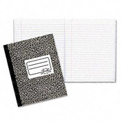Rediform National Xtreme White Notebook, Wide Ruled, 7-7/8 x 10, 80 Sheets