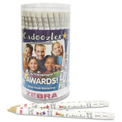 Zebra Cadoozles Mechanical Pencil, 0.9 mm, Assorted, 72/Pack