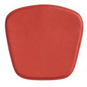 Wire Bar Chair Cushion, Red