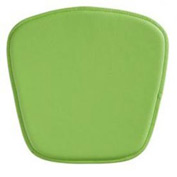 Wire Bar Chair Cushion, Green
