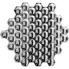 Honeycomb Mirror, Clear