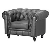 Aristocrat Armchair, Black