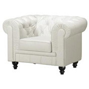 Aristocrat Armchair, White