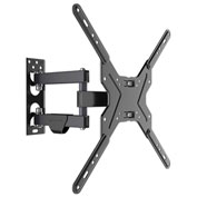 "Loctek L1A Full Motion TV Wall Mount Bracket, Articulating, for 14""-50"" TVs Up to 55 lbs."