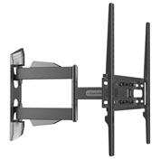 "Loctek TV Wall Mount Bracket, Articulating for 32""-50"" Screens Up to 55lbs, Black"