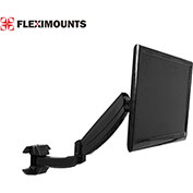"Fleximounts Deluxe Full Motion Swivel Wall Mount for 10""-24"" Monitors"