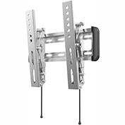 "Loctek Outdoor Stainless Steel Tilt TV Wall Mount Bracket for Most 10""-42"" LCD/LED/Plasma TVs"
