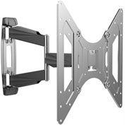 "Loctek O2M Outdoor Stainless Steel Full Motion TV Wall Mount Bracket for Most 26""-50"" TVs"