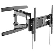 "Loctek R2L Full Motion Curved TV Wall Mount Bracket, for 32""-70"" Flat & Curved Panel TVs"
