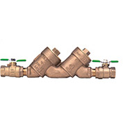 Zurn 112-950XLT2 1-1/2 In. FNPT x FNPT Double Check Valve Assembly - 175 PSI - Lead-Free Cast Bronze
