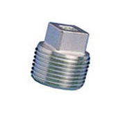 General Plug & Manufacturing Plug 300# Galvanized Steel - 1/8'' - Pkg Qty 100