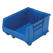 Quantum Mobile Hulk Plastic Stackable Storage Bin QUS965MOB 18-1/4 x 23-7/8 x 12 Blue