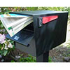 Mailboxes-Residential Post Mounted