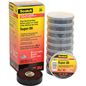 "3m™ Scotch® Premium Vinyl Electrical Tape 88-Super-3/4"" X 66' - Pkg Qty 10"