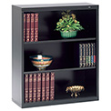 "Welded Steel Bookcase 40""H - Black"