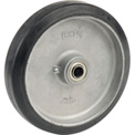 "Wesco® 8"" x 1-1/2"" Mold-On Rubber Wheel 108545 - 5/8 Axle Size"