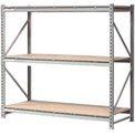 "Extra High Capacity Bulk Rack With Wood Decking 72""W x 36""D x 96""H Starter"