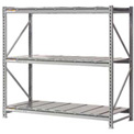 "Extra High Capacity Bulk Rack With Steel Decking 96""W x 36""D x 96""H Starter"
