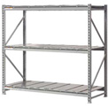 "Extra High Capacity Bulk Rack With Steel Decking 96""W x 48""D x 96""H Starter"