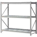 """Extra High Capacity Bulk Rack With Wire Decking 72""""W x 36""""D x 96""""H Starter"""