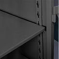Lyon Storage Cabinet Additional Shelf KK10601  - 36x24 - Black