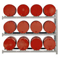 Modern Equipment MECO DPR16A 4 Tier Drum Pallet Rack Add-On Unit