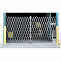 Double Folding Security Gate 12'W x 8'H