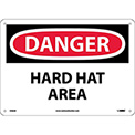 Safety Signs - Danger Hard Hat Area - Aluminum