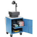 Blue Security Audio Visual Cart 500 Lb. Capacity