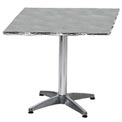 Square 24x24 Stainless Steel Table